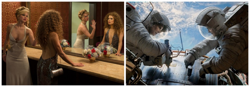 American Hustle and Gravity lead the Oscar noms with 10 apiece