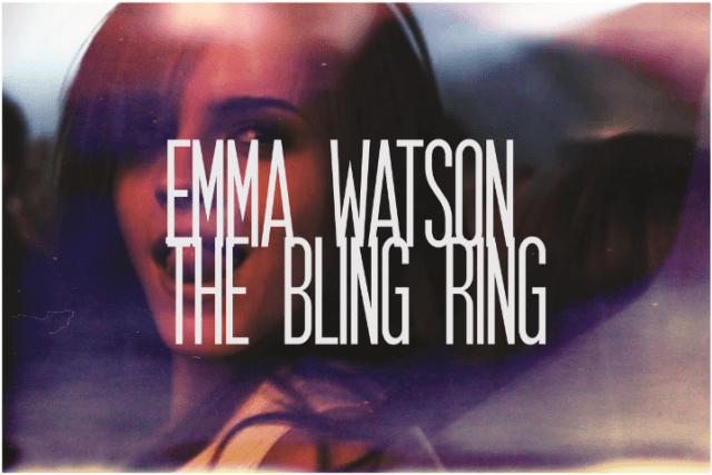 32. Emma Watson, The Bling Ring