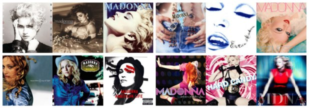 From Madonna to MDNA