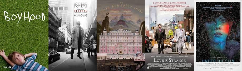 Best Feature nominees: Boyhood, Birdman, The Grand Budapest Hotel, Love is Strange, Under the Skin