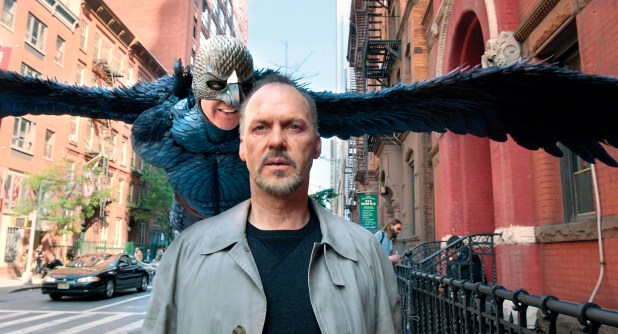 Birdman wins the Screen Actors Guild Ensemble trophy at their 21st annual awards