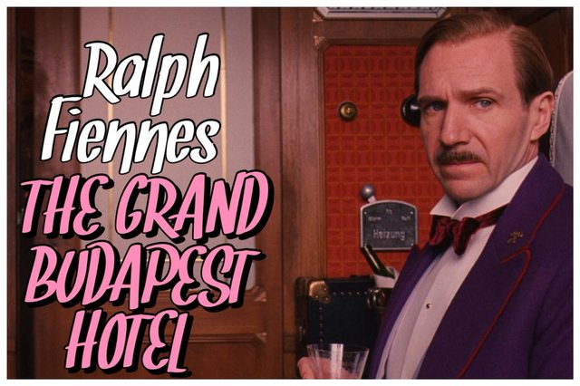1 - Ralph Fiennes - The Grand Budapest Hotel