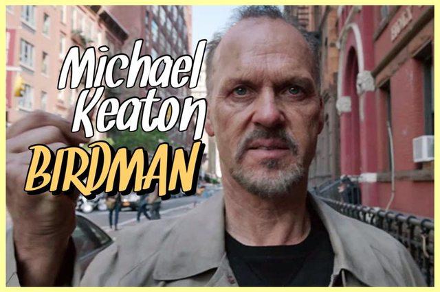 13 - Michael Keaton - Birdman
