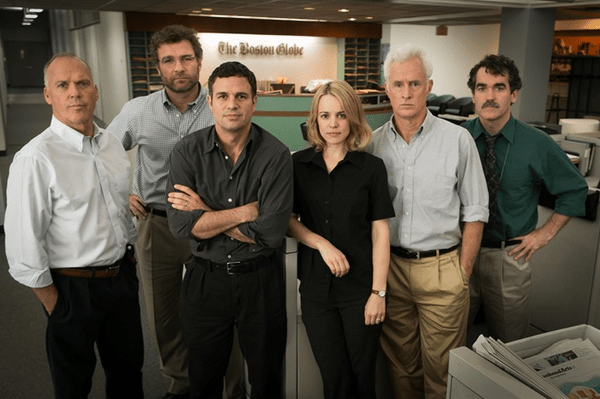 Spotlight (Open Road Films) should shine bright at the Independent Spirit Awards