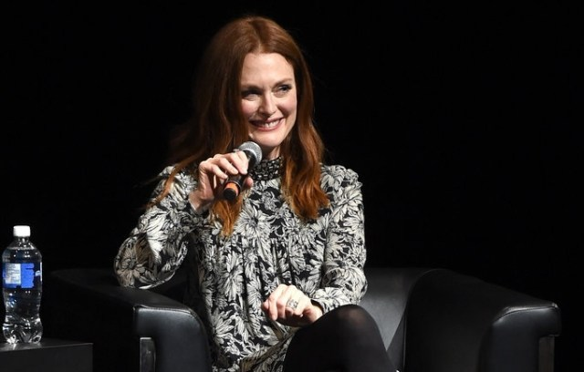 Julianne Moore talks to TIFF15 where she has two films, Freeheld and Maggie's Plan