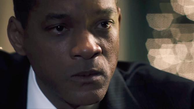 Will Smith in Concussion, the AFI Fest's Centerpiece Film
