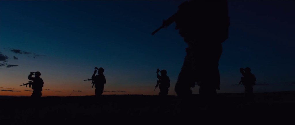 Sicario, shot by 12-time Oscar nominee Roger Deakins. Is this finally his year? Don't count on it.