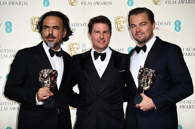 Alejandro G. Iñárritu, Leonardo DiCaprio win BAFTAs for The Revenant