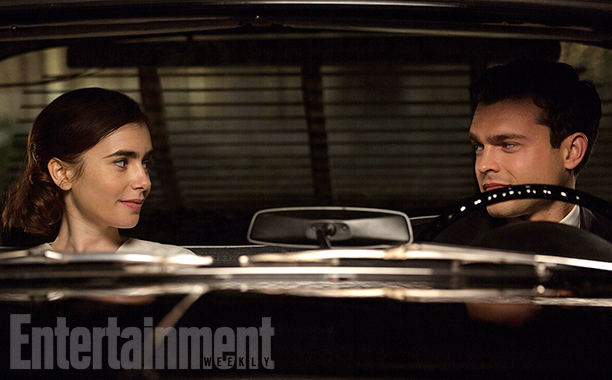 RULES DON'T APPLY (2016) Lily Collins and Alden Ehrenreich