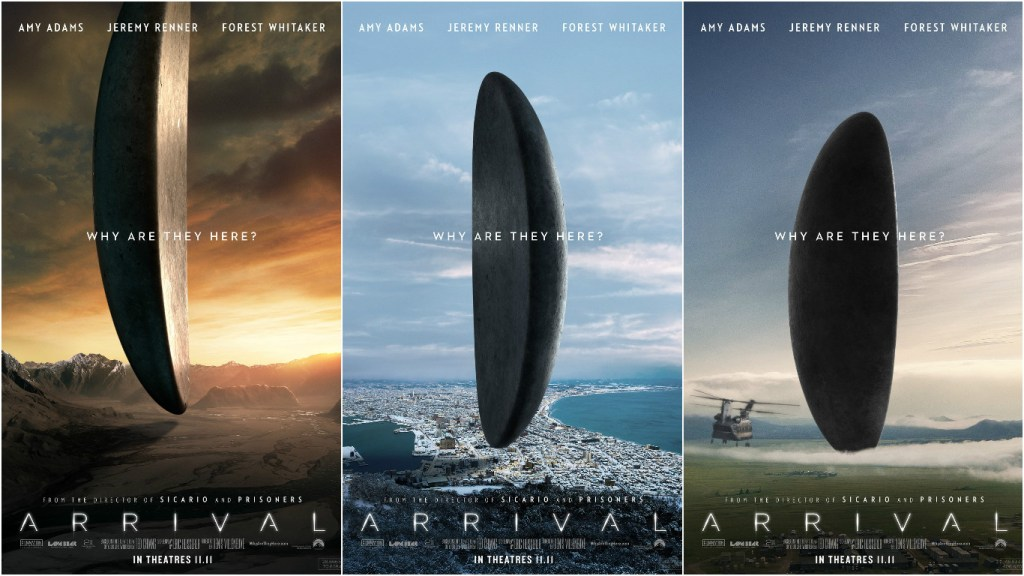 Arrival-poster-triptych