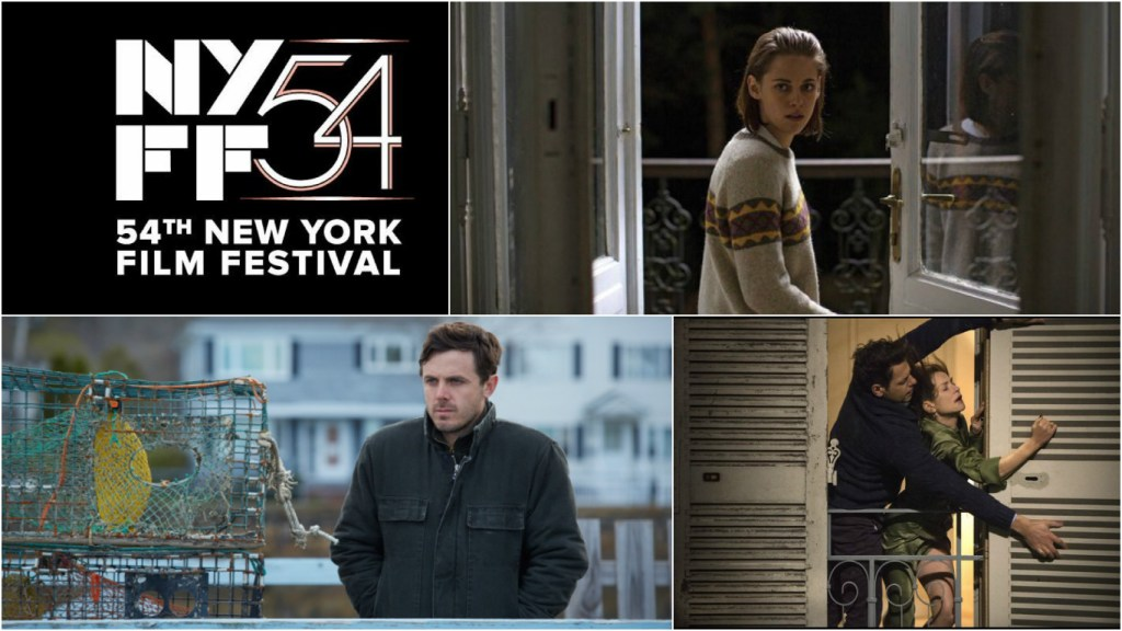 The 54th New York Film Festival Lineup feat. Kristen Stewart x2, Manchester by the Sea and Isabelle Huppert x2