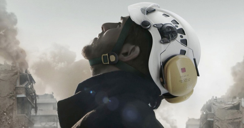White Helmets is currently available on Netflix