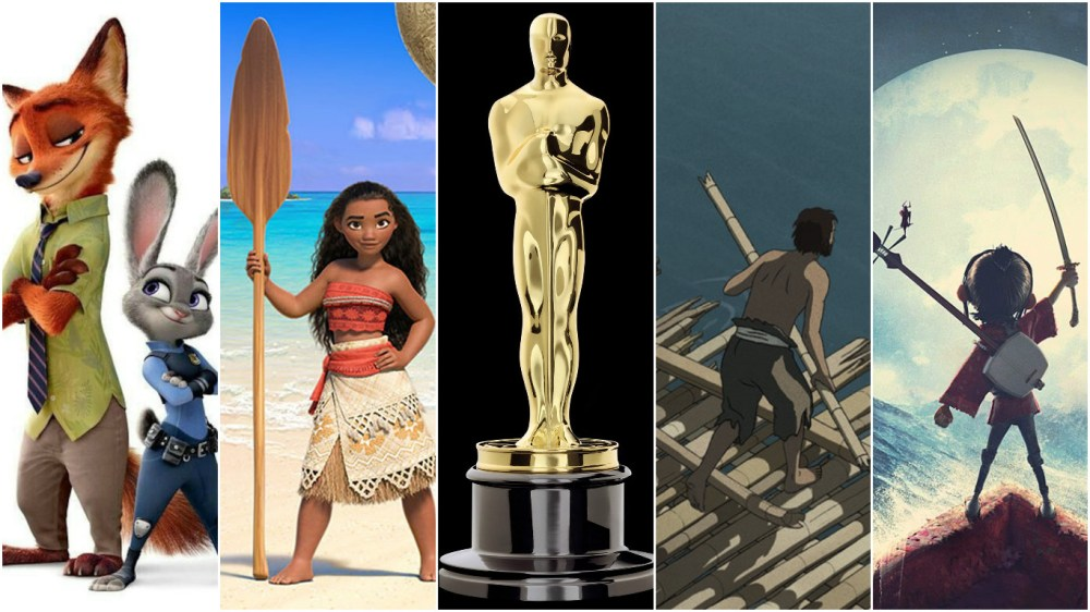 Zootopia, Moana, The Red Turtle and Kubo and the Two Strings Among Entries in the Animated Feature Oscar Race