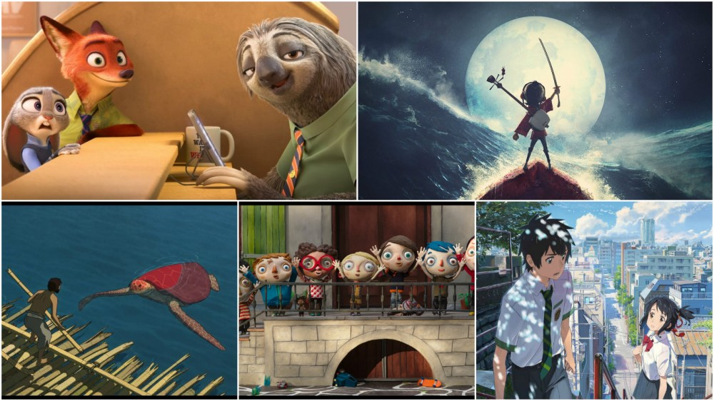 Zootopia, Kubo and the Two Strings lead ANNIE nominations but foreign and indie films The Red Turtle, My Life as a Zucchini and Your Name. play well