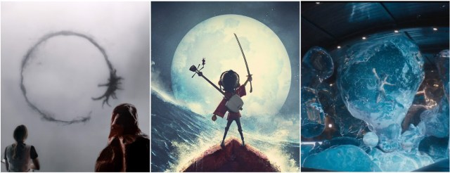 Arrival, Kubo and the Two Strings and Passengers land a spot among 20 finalists for a Visual Effects Oscar nomination