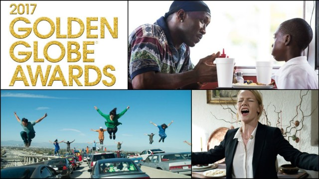 A lot of tough races should make the motion picture categories at the Golden Globes exciting. (from top; Moonlight, La La Land, Toni Erdmann)