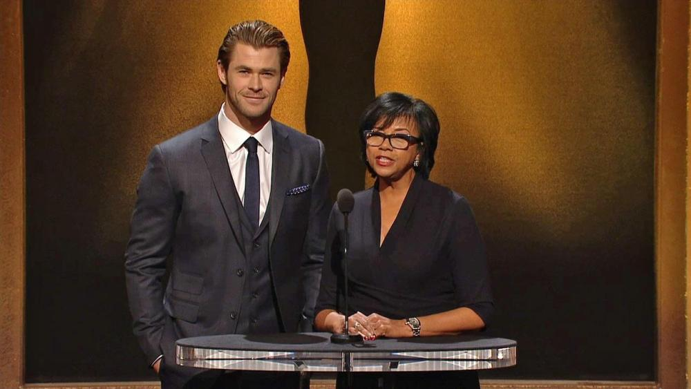 cheryl-boone-isaacs-chris-hemsworth-oscar-nominations