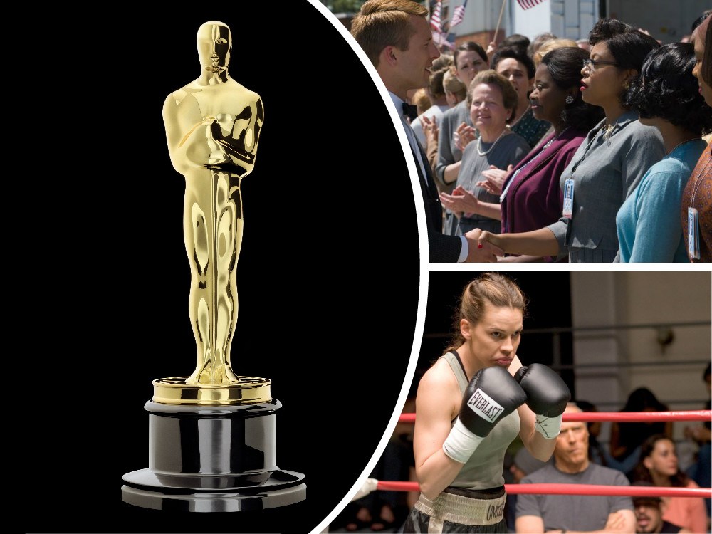 Hidden Figures was the top-grossing Best Picture nominee this year but 2004's Million Dollar Baby is still the last Best Picture winner fronted by a woman