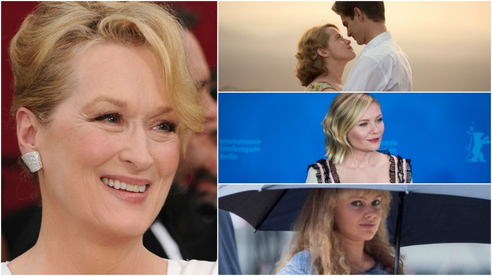 Streep looks for Oscar nomination #21 while Claire Foy, Kirsten Dunst and Margot Robbie look for their first