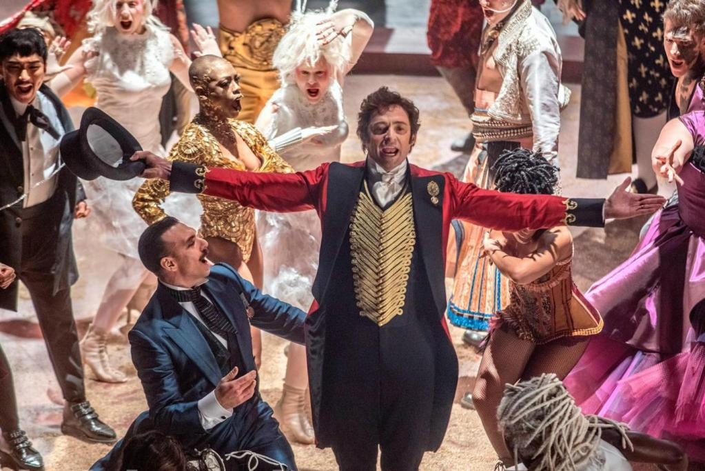 Hugh Jackman aims to entertain the masses as P.T. Barnum in THE GREATEST SHOWMAN