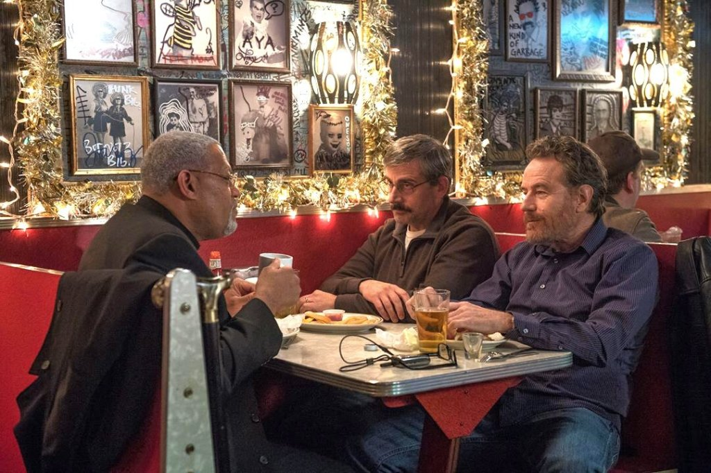 Laurence Fishburne, Steve Carell and Bryan Cranston suit up for the road movie Last Flag Flying