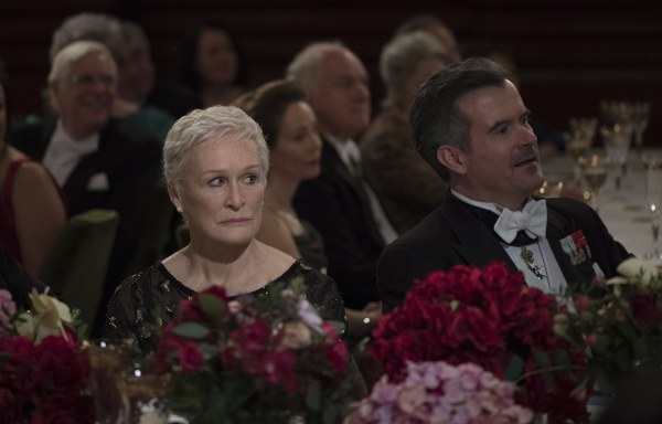 Glenn Close has her eyes on the prize in The Wife