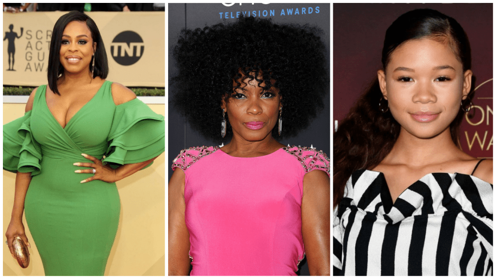 ava-duvernay-central-park-five-niecy-nash-aunjanue-ellis-storm-reid