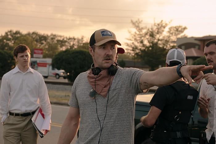 Joel Edgerton on the set of Joel Edgerton's BOY ERASED, a Focus Features release.  Credit: Kyle Kaplan / Focus Features