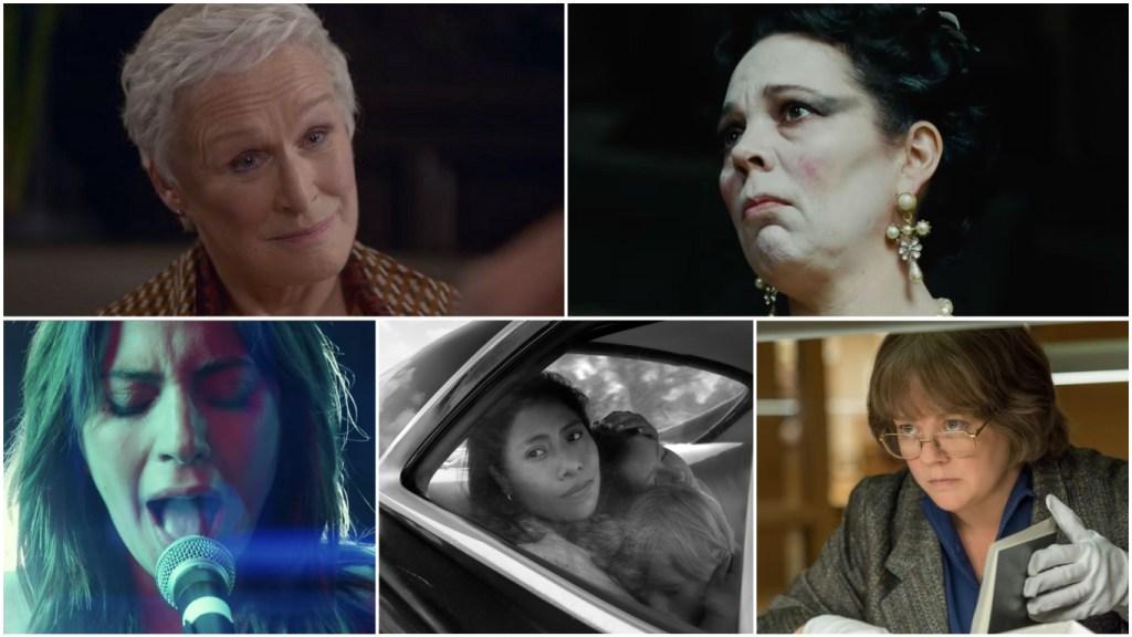 2019-oscar-predictions-best-actress-february-close-colman-gaga-aparicio-mccarthy