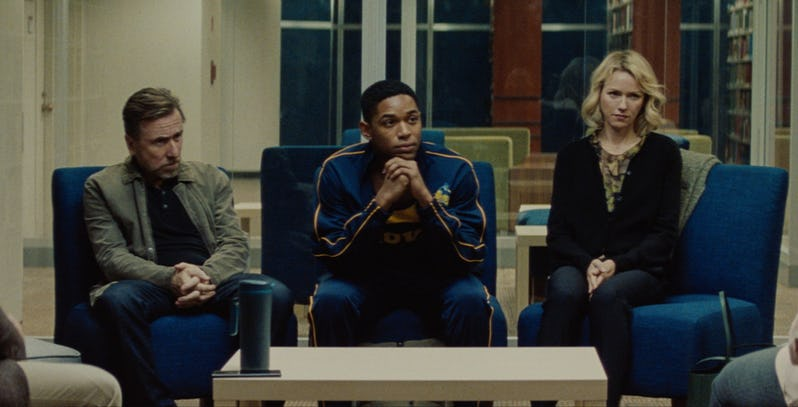 Tim Roth, Kelvin Harrison, Jr., and Naomi Watts in LUCE (Neon)