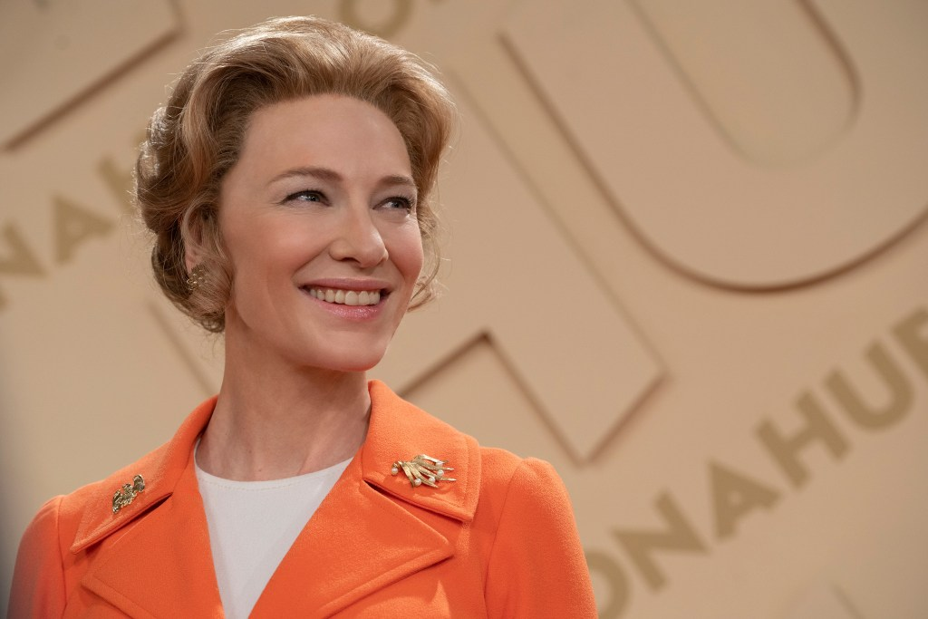MRS. AMERICA -- Pictured: Cate Blanchett as Phyllis Schlafly. CR: Sabrina Lantos/FX