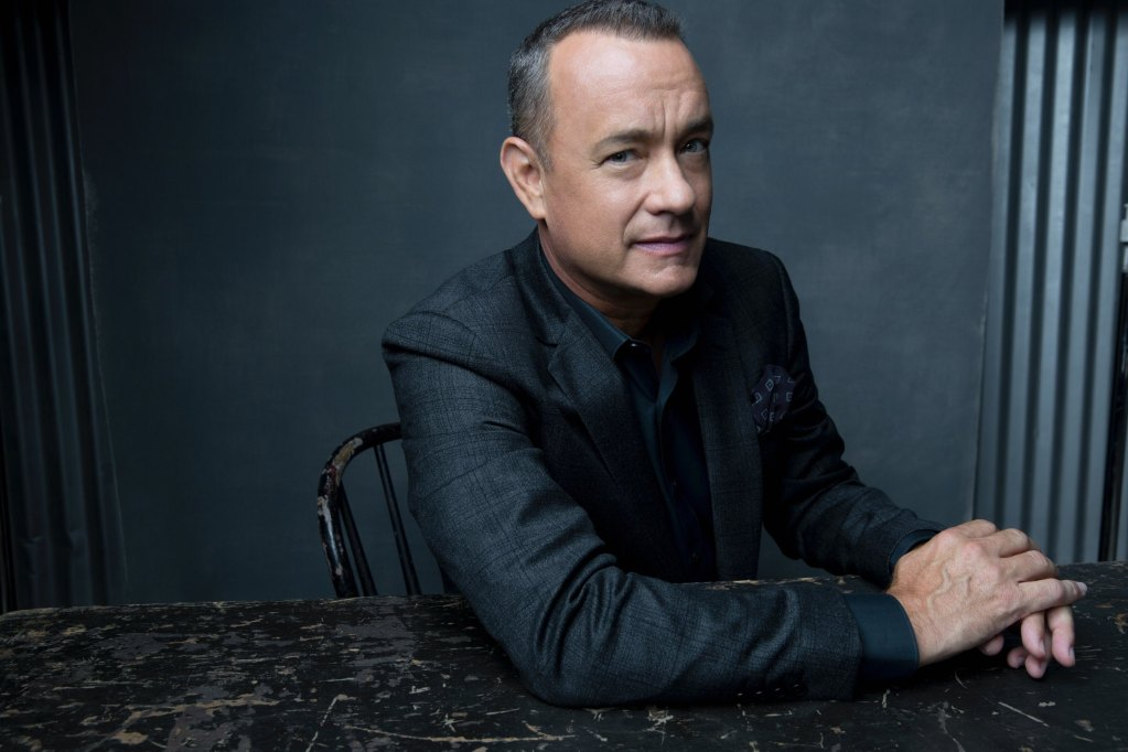 "Tom Hanks the star of Columbia Pictures' ""Captain Phillips."""