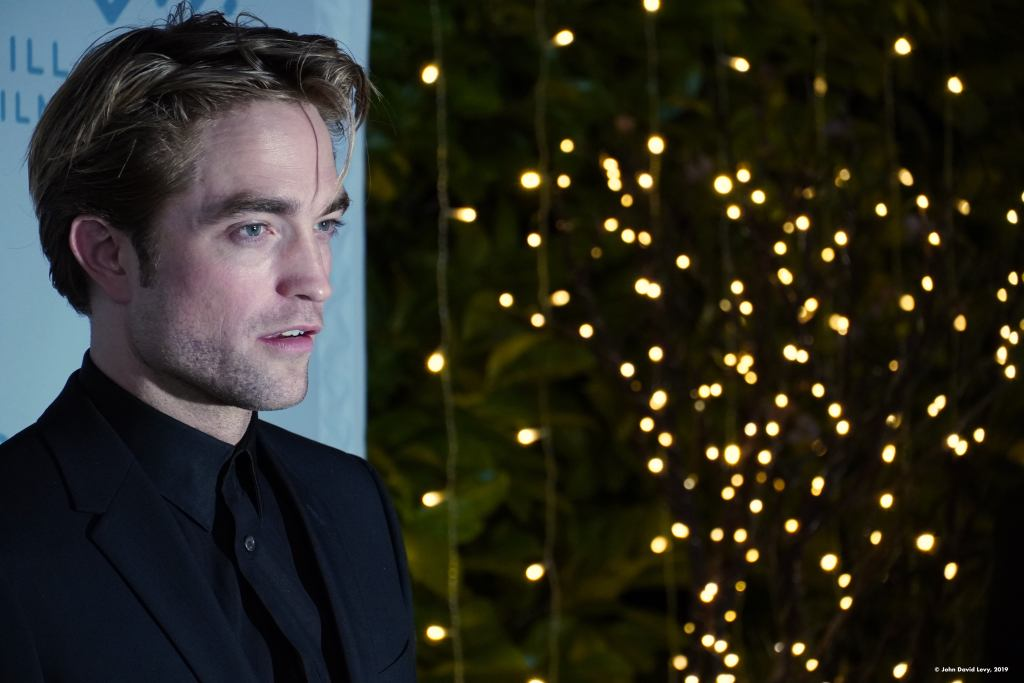 Robert Pattinson on the red carpet at the 42nd Mill Valley Film Festival (Photo: John David Levy)