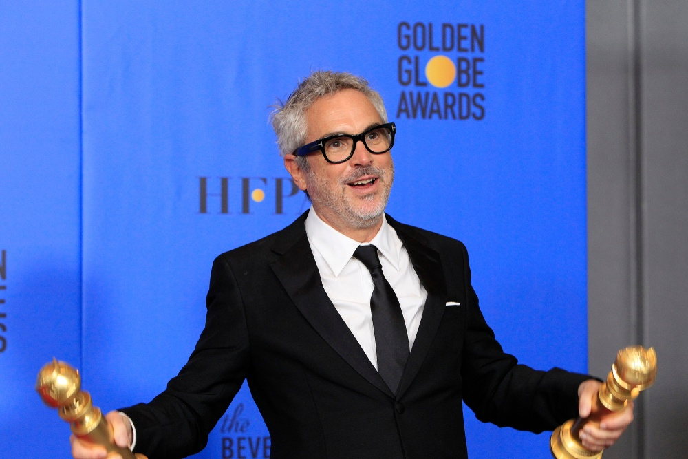 Alfonso Cuaron at the 2019 Golden Globe Awards - Press Room at the Beverly Hilton Hotel on January 6, 2019 in Beverly Hills, CA (Joe Seer / Shutterstock.com)