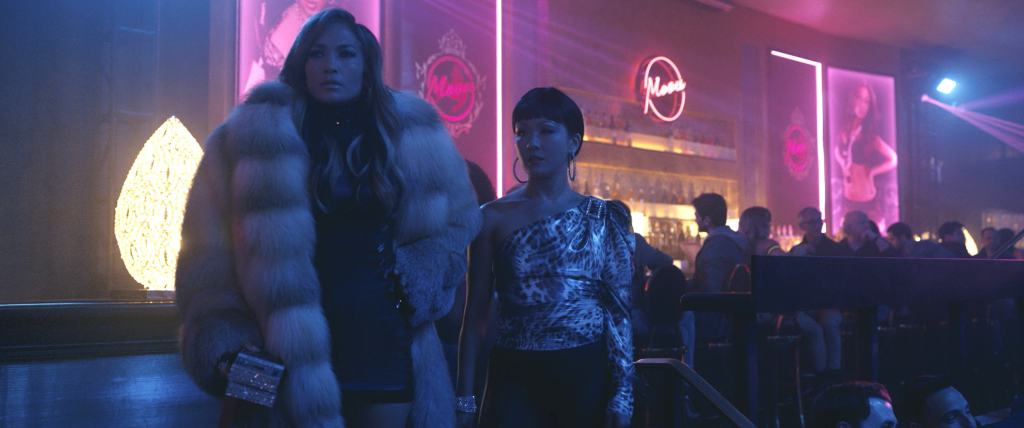 Jennifer Lopez and Constance Wu star in HUSTLERS (STX Entertainment)