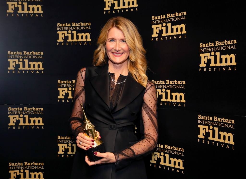 SANTA BARBARA, CALIFORNIA - JANUARY 21: Laura Dern attends the Cinema Vanguard Award Honoring Laura Dern during the 35th Santa Barbara International Film Festival at the Arlington Theatre on on January 21, 2020 in Santa Barbara, California. (Photo by Rebecca Sapp/Getty Images for SBIFF)