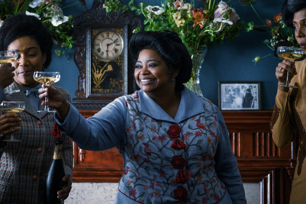 Octavia Spencer makes the cut (courtesy of Netflix)