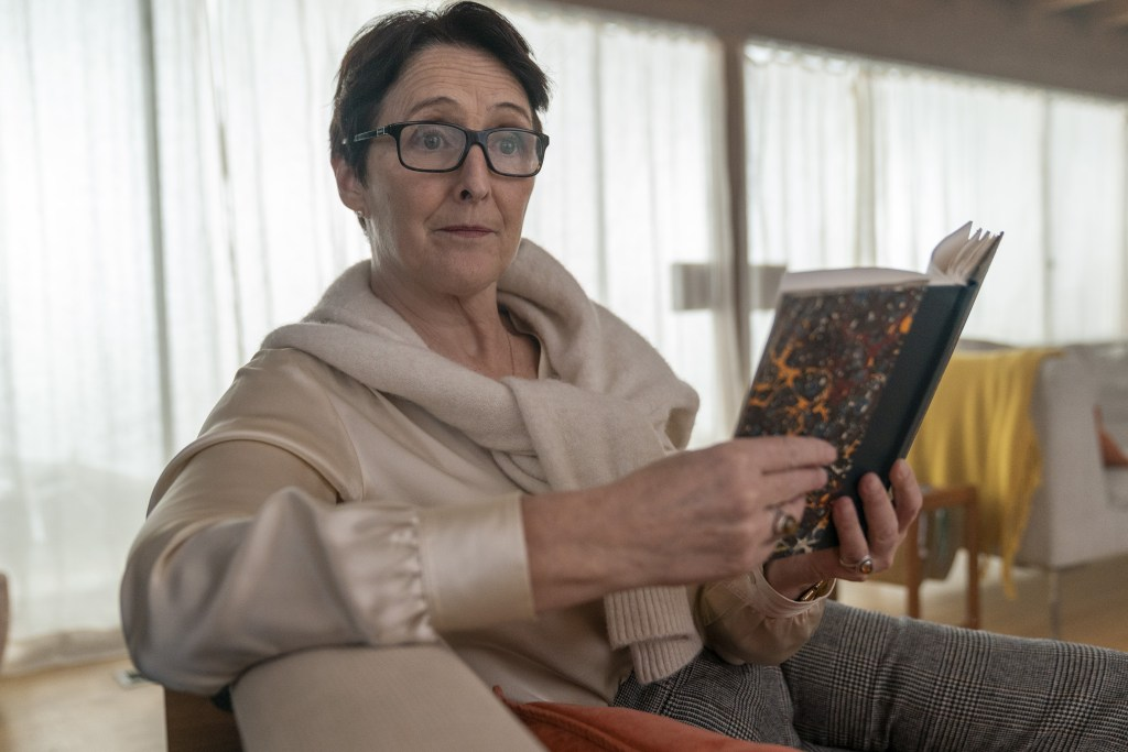 Fiona Shaw makes a killing in the Emmy-winning drama (Laura Radford/BBCAmerica/Sid Gentle)