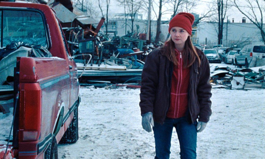 Jessica Barden in Nicole Riegel's HOLLER. Image courtesy Level Forward.