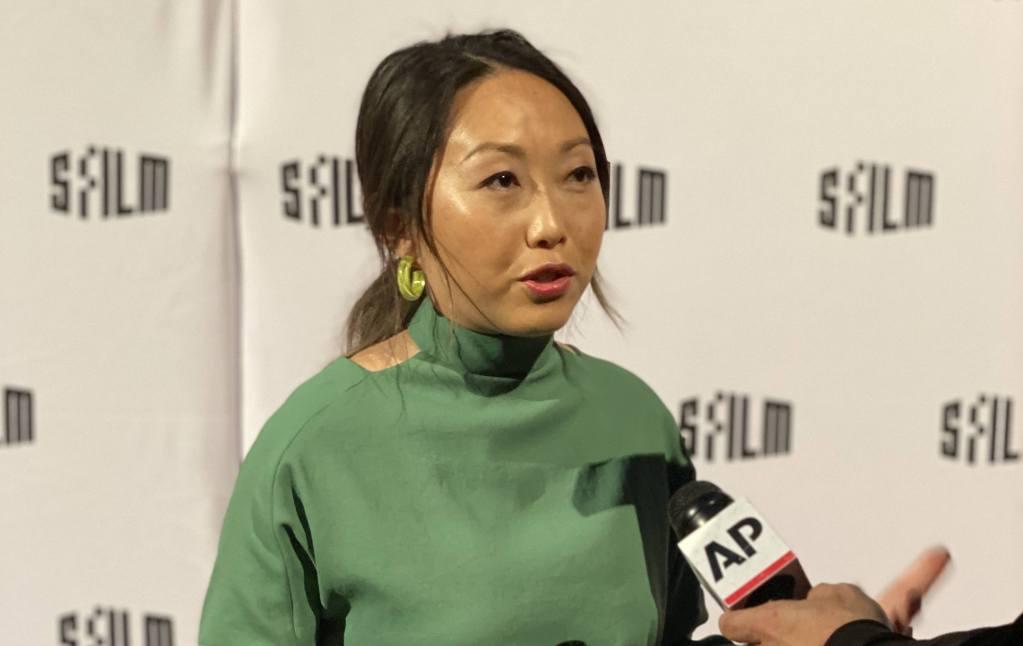 Lulu Wang at the SFFILM Awards in San Francisco - December 3, 2019 (Erik Anderson / AwardsWatch)