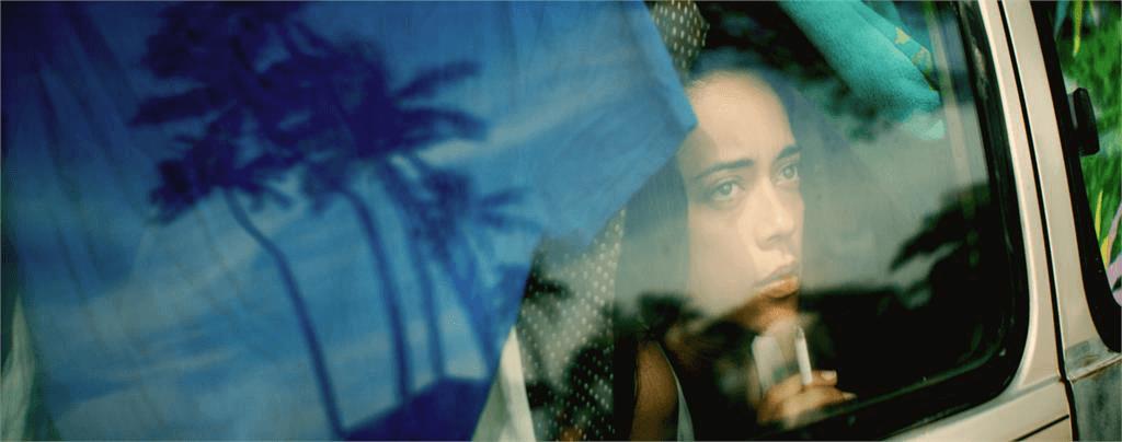 Danielle Zalopany in a scene from Christopher Kahunahana's WAIKIKI