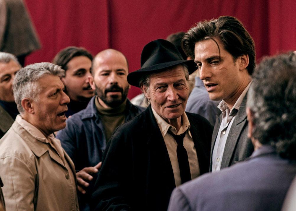 Luca Marinelli in MARTIN EDEN. Image courtesy Kino Lorber.