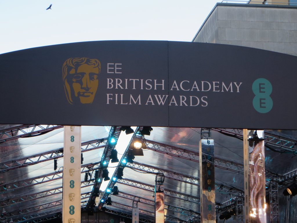 Signage,For,The,2015,Bafta,Film,Awards,In,At,London's
