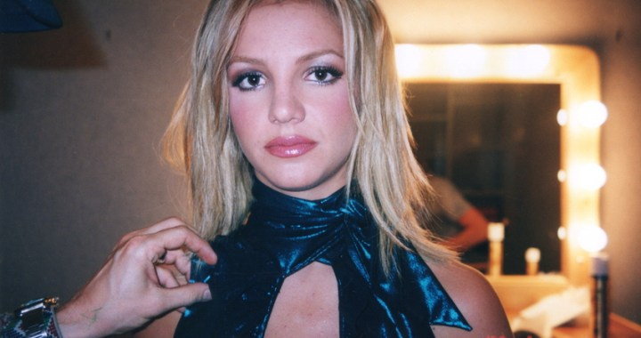 "THE NEW YORK TIMES PRESENTS  ""Framing  Britney Spears"" Episode 6 (Airs Friday, February 5, 10:00 pm/ep) -- Behind the scenes during the shoot for the ""Lucky"" music video in 2000. A moment captured by Britney's assistant and friend Felicia Culotta. CR: FX"