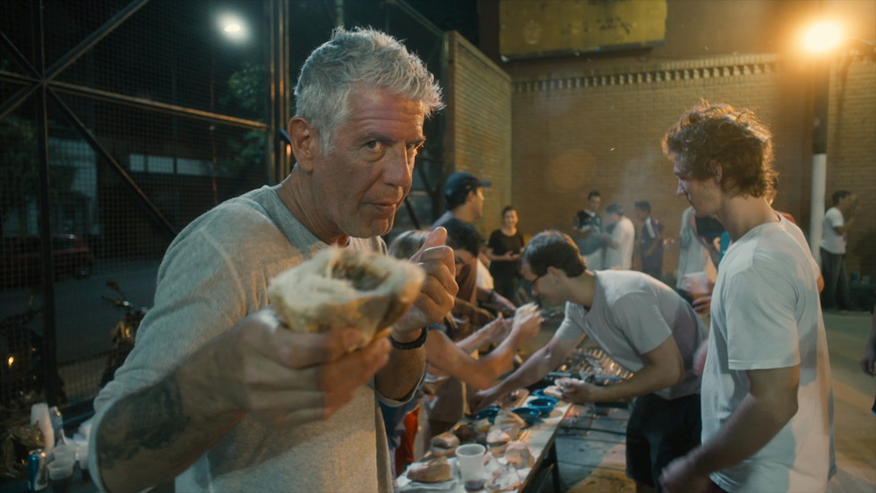 Anthony Bourdain stars in Morgan Neville's documentary, ROADRUNNER, a Focus Features release. Credit Courtesy of CNN / Focus Features