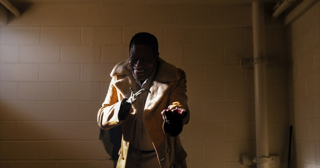 Michael Hargrove as Sherman Fields in Candyman, directed by Nia DaCosta.