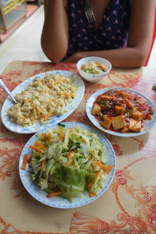Meal in Ninh Binh