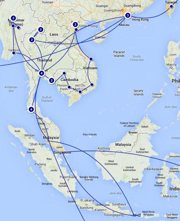 Crazy SE Asia portion