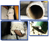 Asbestos Flue & Water Pipes | AWARE Asbestos Removal ...