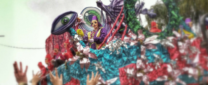 Give them what they want Mardi Gras-style